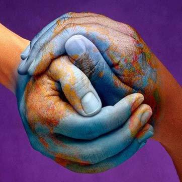 globalization hands