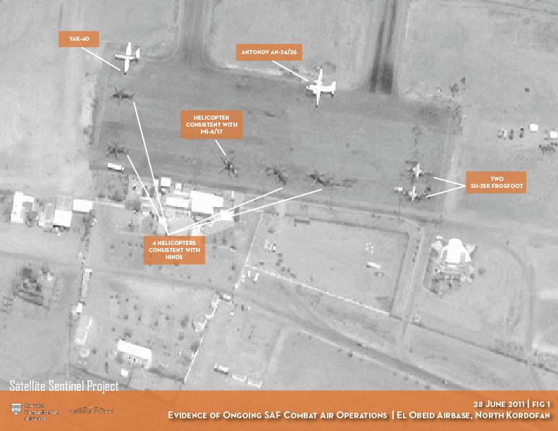 EL Obeid Airbase, North Kordofan