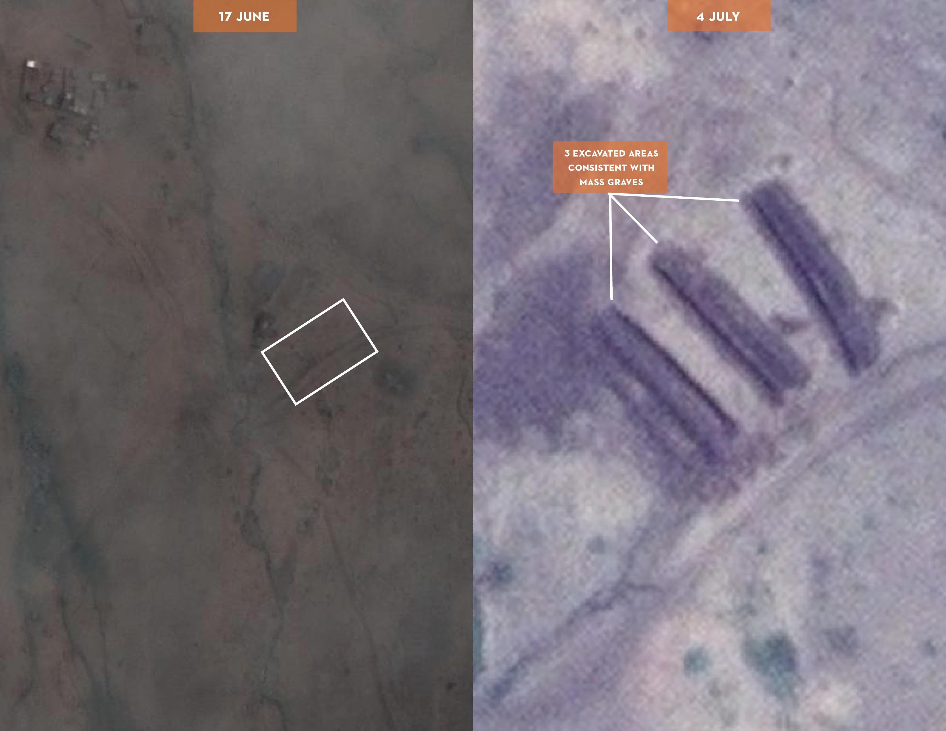 SSP16 Fig1 plain: Potential Mass Graves Near Tilo School