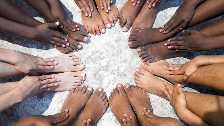 Diverse feet